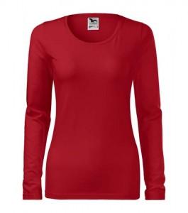koszulka slim czerwona